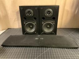 Pair Yamaha NS-AP2800BLF Surround Sound Speakers Tested Work
