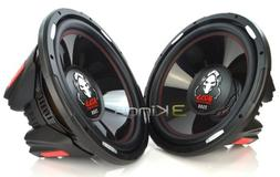 "PAIR BOSS AUDIO P156DVC 15"" 5000W Car Subwoofers 2 Subs"
