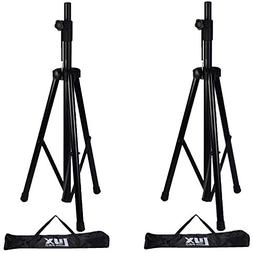 Pair of LyxPro Speaker Stands with carrying Bags, 6 Feet Adj