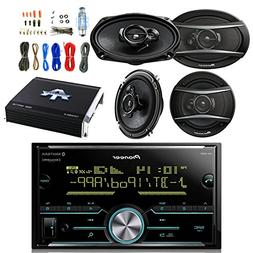Pioneer 2DIN Receiver with Bluetooth with Pioneer 6.9 Inch C