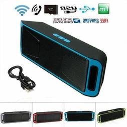 Portable Speakers Mini Bluetooth Wireless Stereo Surround So