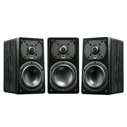 SVS Prime Satellite Speakers 3 Pack Black Ash