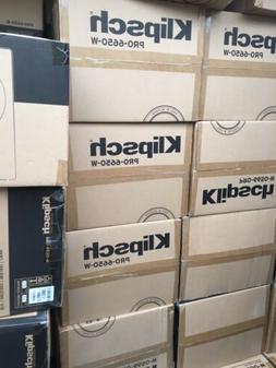 Klipsch PRO-6650-W Speakers x5  In Wall 5.1  surround sound