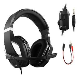 JAMSWALL PS4 Gaming Headset, 3.5mm Over Ear Stereo Gaming He