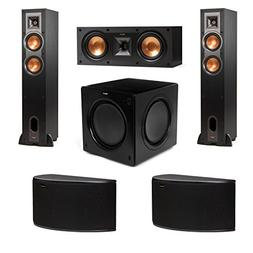 Klipsch R-24F 5.1 Speaker Package with R-25C Center Speaker