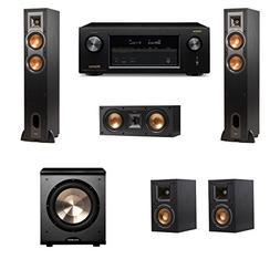 Klipsch R-26F Floorstanding Speakers 5.1 PL-200 Denon AVR-X2