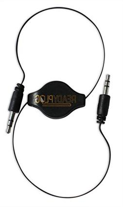 ReadyPlug Retractable 3.5mm Audio Cable for: GoGroove BassPU