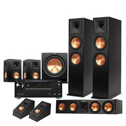 Klipsch RP-280F 5.1.2 Dolby Atmos Home Theater System with O