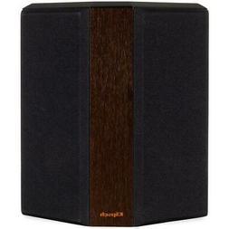 Klipsch RP-402S Surround Sound Speakers, Walnut, Pair #10658