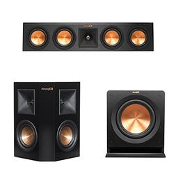 "Klipsch RP-440C Center Channel Speaker Bundle 10"" Subwoofer"