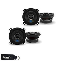 "Alpine S-S40 4"" Speaker Bundle - Two Pairs of 4"" S-Series S-"