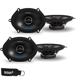Alpine S-S57 5x7  Speaker Bundle - Two Pairs of 5x7  S-Serie