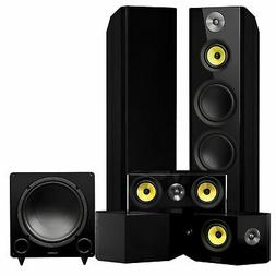 Fluance Signature Series Surround Sound Home Theater 5.1 Cha