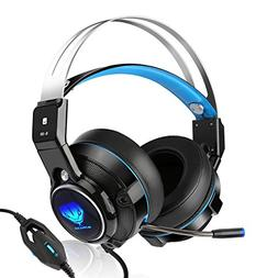 BUTFULAKE SL-320 Wired Stereo Gaming Headset for PS4, Xbox O