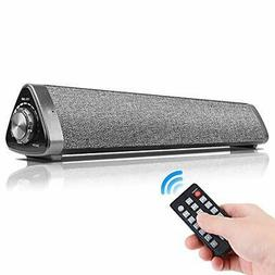 Sound Bar Wired and Wireless Home Theater TV Stereo Speaker,
