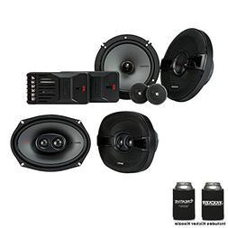 "Kicker Speaker Bundle - A Pair of Kicker KS 6.5"" Components"