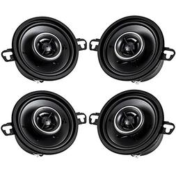 Kicker Speaker Bundle - Two pairs of 3.5 Inch KS-Series Spea