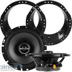 Alpine SPS-610 Speakers w/ Adapters For Select 1998-2013 Har
