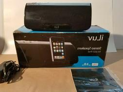ILUV Stereo Speakers For Ipod 3-D Surround Sound