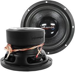 Subwoofer Car Audio, 8 Inch 600w Max Woofer Speaker 4 Ohm Dv
