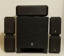 Yamaha Surround Sound 5.1 Speakers NS-AP2600C & NS-AP2600S