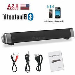 Surround Sound Bar BT 4 Speaker System Wireless Subwoofer TV