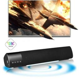 Surround Sound Bar Speaker System Wireless Bluetooth 3.0 Bas