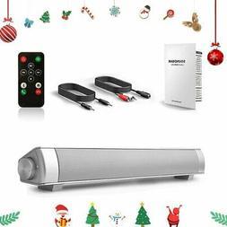 Surround Sound Bar Speaker System Wireless  Bluetooth 4.2 Su