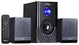 Surround Sound 2.1 Channel Multimedia Bluetooth Speaker Syst