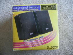 Altec Lansing Surround Sound  Speakers Model 52
