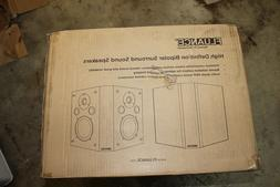 Fluance SXBP Home Theater Bipolar Surround Sound Speakers