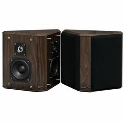 Fluance SXBP2W Home Theater Bipolar Surround Sound Speakers