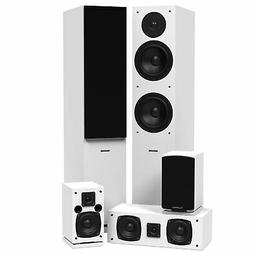 Fluance SXHTBWH Surround Sound Home Theater Speaker System