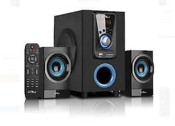 Theater Surround Sound Speakers System 2.1 Channel Bluetooth
