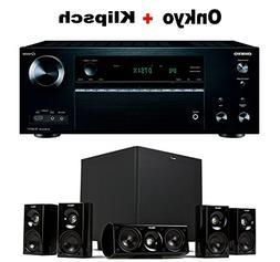 Onkyo THX-Certified Audio & Video Component Receiver black