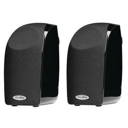 Polk Audio 2X TL1 100W Satellite Speaker, 120Hz-20kHz, Black