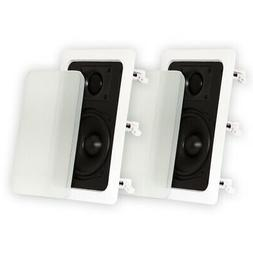 Theater Solutions TS50W In Wall Speakers Home Theater Surrou
