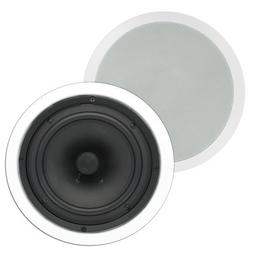 "Theater Solutions TS80C In Ceiling 8"" Speakers Surround Soun"