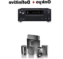 Onkyo TX-RZ630 9.2 Channel 4K Network A/V Receiver Black + D