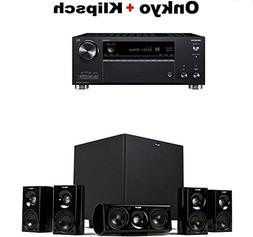 Onkyo TX-RZ630 9.2 Channel 4K Network A/V Receiver Black + K