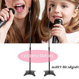 UNIVERSAL SURROUND SOUND SPEAKER STANDS SET OF 2 SATELLITE S