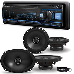 Alpine UTE-73BT Receiver with Bluetooth + A Pair of Alpine S