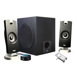 PC Laptop Computer Surround Sound Speakers w/Subwoofer great