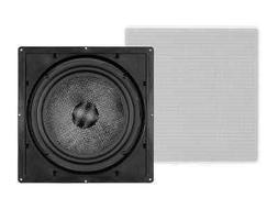 Monoprice in Wall Speaker 10 Inch  Carbon Fiber, 300 Watt Su