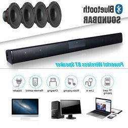 Wireless 3D Surround Sound 4* Subwoofer Bluetooth Soundbar H