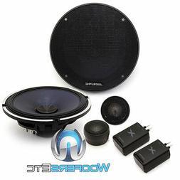 "ALPINE X-S65C 6.5"" 360W CAR AUDIO TYPE-X COMPONENT SPEAKERS"