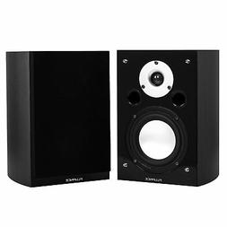 Fluance XL7SBK High Performance Bookshelf Surround Sound Spe