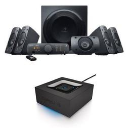 Z906 Surround Sound Speaker System Bundle With Bluetooth Aud