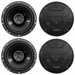 "Hifonics ZS653 6.5"" 1200 Watt Car Stereo Coaxial Speakers"